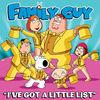 I've Got a Little List (from Family Guy) - Single